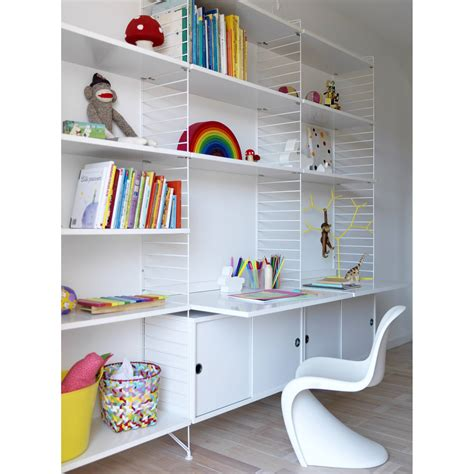 string shelves skandium