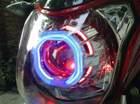 Lu Hid Motor New Vixion hid projector new vixion modifkasi motor lu depan jadi