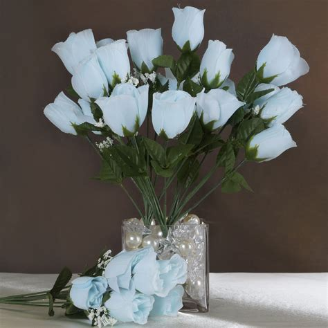 artificial centerpieces sale 252 silk buds wedding flowers discounted bouquets