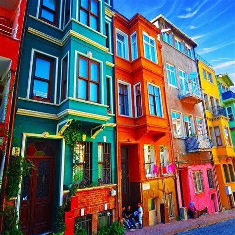 colorful building istanbul turkey colorful buildings pinterest