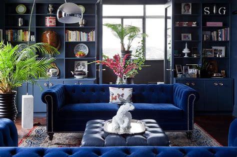 blue velvet sofa living room sapphire blue velvet tufted sofa with blue leather tufted