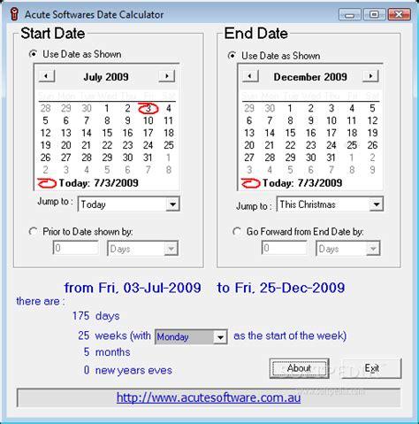 Calendar Date Calculator Date Calculator