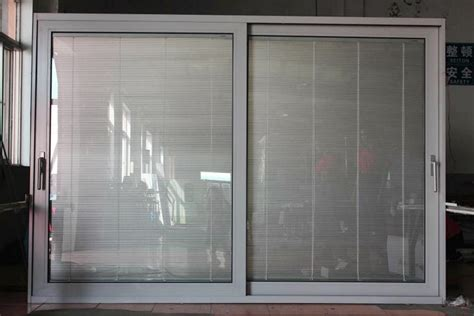 Sliding Patio Doors With Built In Blinds Sliding Doors With Blinds Spotlats