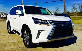 2016 lexus lx 570 review start up exhaust