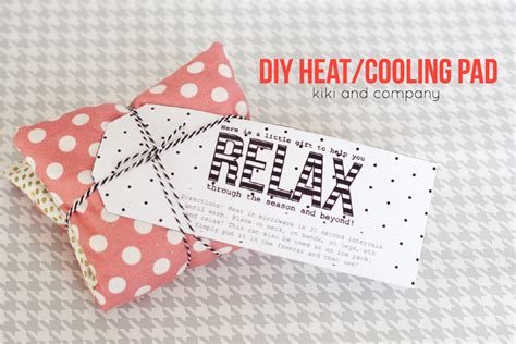 diy free diy heating and cooling pad tutorial and free printable