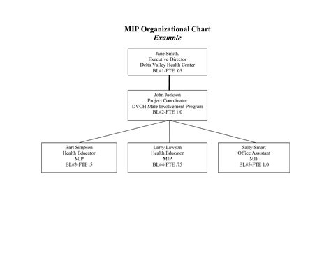 printable blank organizational chart 6 best images of printable blank organizational chart