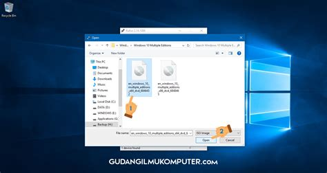 membuat bootable usb windows 8 1 rufus cara membuat bootable usb windows menggunakan rufus