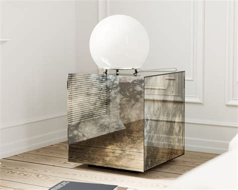 home goods mirrored nightstand furniture sanctuary