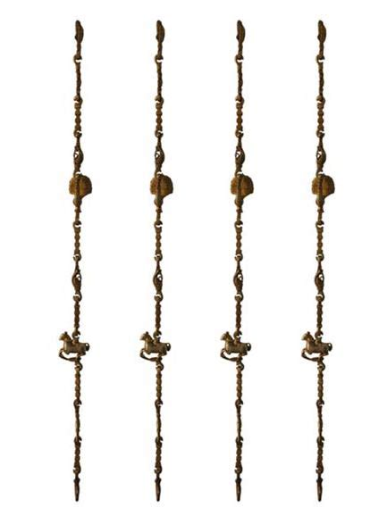 chains for swings swing chain set for indoor swing manufacturer in aligarh