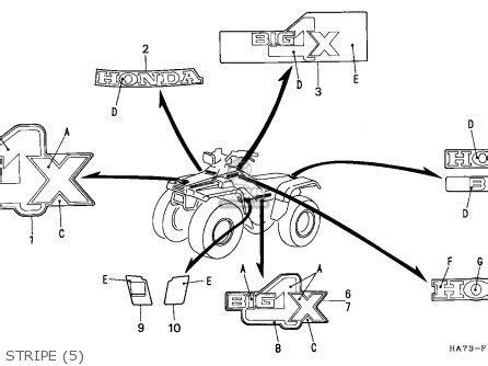 1987 honda trx 125 wiring diagram wiring diagram