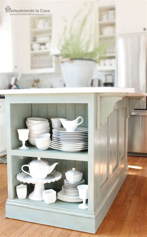 kitchen island makeover feature friday beautiful makeover projects you can do