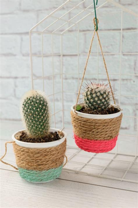 ladari fai da te riciclo vasetti per piante grasse fai da te idee di riciclo creativo