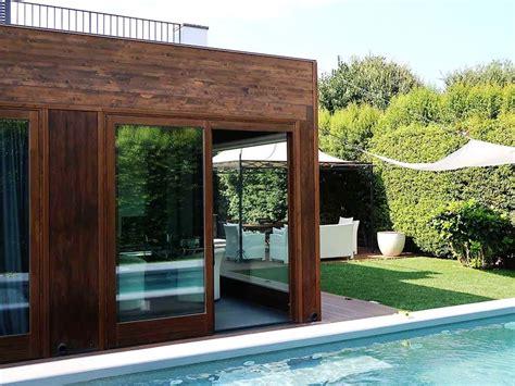 tettoie in legno chiuse larghezza altezza e profondit della struttura vengono