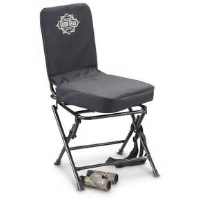 chair blinds for deer guide gear swivel chair black 222292 stools