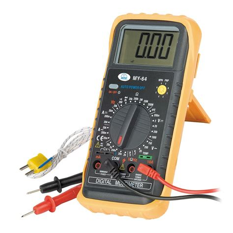 Multimeter Manual my 64 manual ranging digital temp multimeter