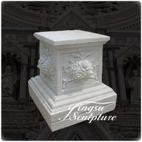 pedestales de marmol tallada a mano de encargo tallas de piedra pedestales de