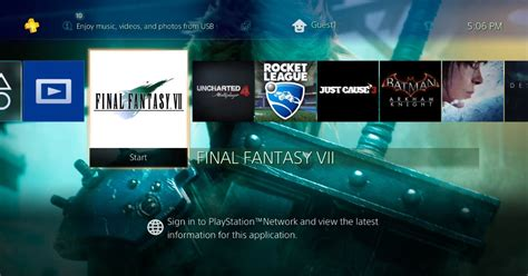 ps4 themes to download the coolest ff7 theme on ps4 will only cost you 10 87