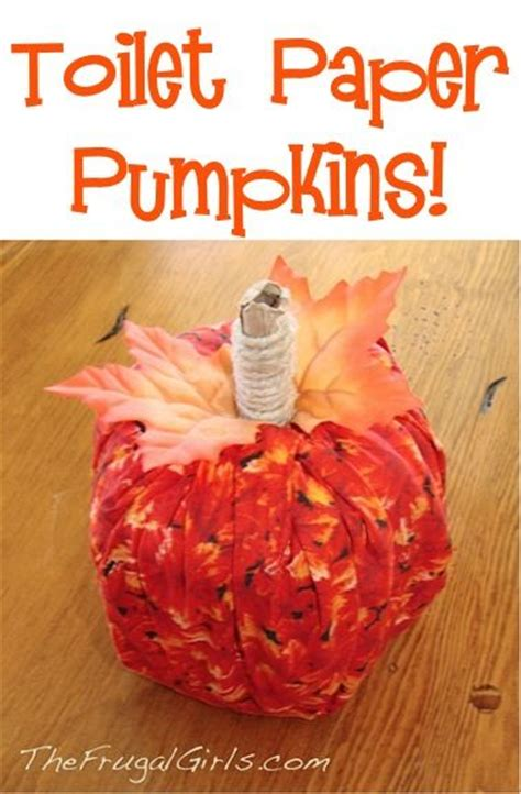 Toilet Paper Pumpkins Craft - toilet paper pumpkins pictures photos and images for