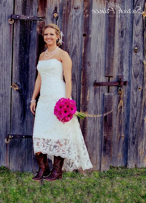 Wedding Dresses With Boots by Wedding Dress With Western Boots High Cut Wedding Dresses