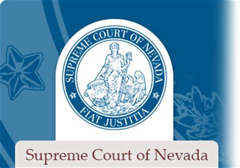 Nevada Judiciary Search Nevada Appellate Courts