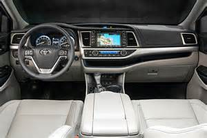 Toyota Highlander Interior Photos 2017 Toyota Highlander Drive