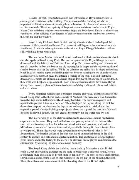 Royal Essays by History 2 Essay Royal Klang Club