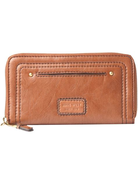 Ethnic Continental Purse by Small Leather Wallet