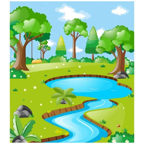 nature clipart nature clipart background design pencil and in color