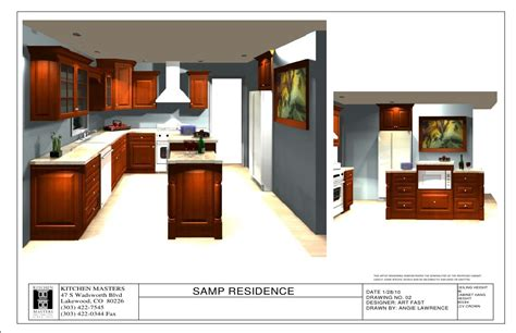 kitchen layout presentation kitchen presentation sle