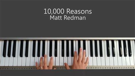 reason tutorial keyboard 10 000 reasons bless the lord oh my soul matt redman