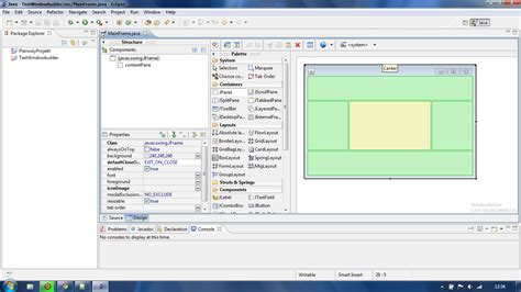 java swing ide swing create gui using eclipse java stack overflow