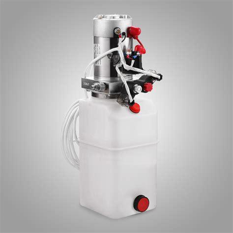 yueksek kaliteli cift etkili hidrolik pompa   damperli