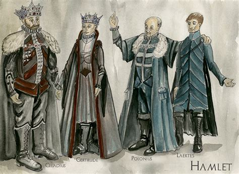 hamlet polonius themes hamlet theortical costume on behance