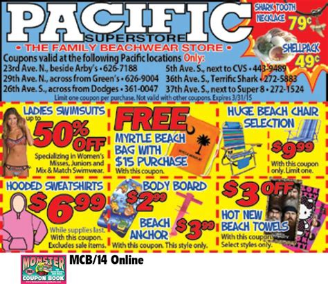 186 best images about coupons for myrtle beach on