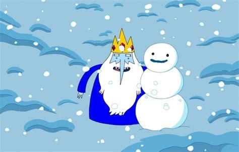 Adventure Time Iphone All Semua Hp 3 обои adventure time снежный король the king снег снеговик персонаж время приключений