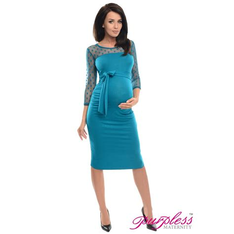 Dress D008 purpless maternity ruched bodycon pregnancy dress with