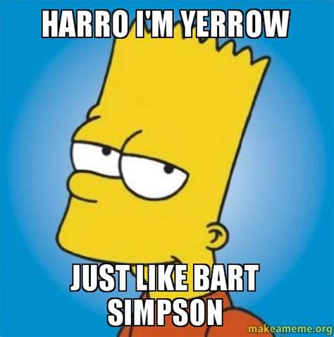Bart Simpson Meme - the gallery for gt bart simpson chalkboard generator