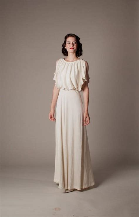 Vintage 30 S Wedding Dresses by 30s Style Wedding Dresses High Cut Wedding Dresses