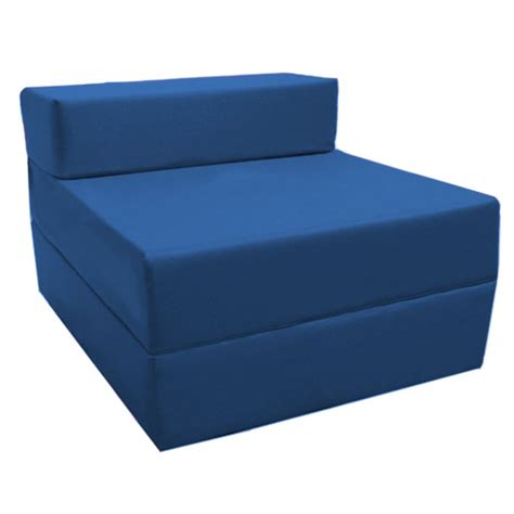 Hello Fold Out Sofa by Blue Fold Out Guest Sofa Z Bed Sleeping Mattress Studio Student Indoor Outdoor Ebay