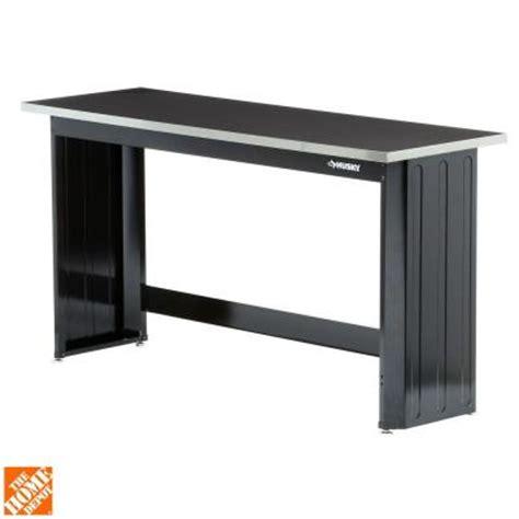 husky  ft stainless steel top workbench wbss thd
