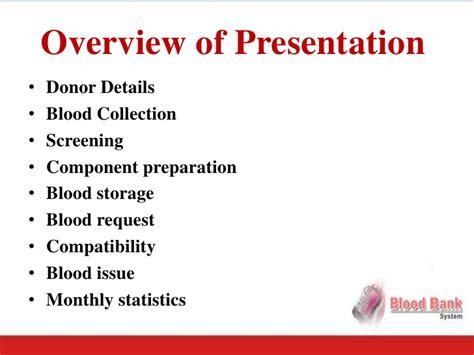 House Design Software Name blood bank software presentation