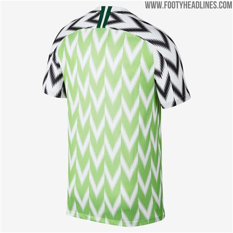 nigeria 2018 world cup home kit revealed footy headlines