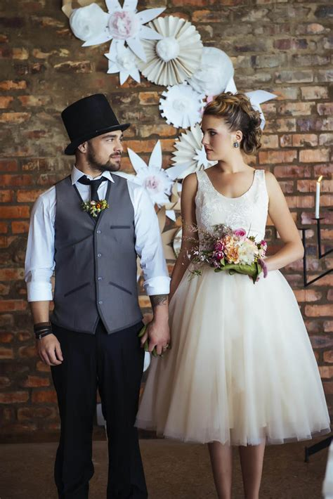 Rockabilly Wedding Ideas by Celeste Styled Events {Claire