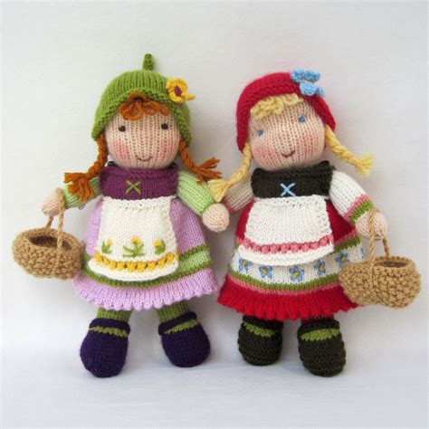 tiny knitted toys knitted dolls on darts knitting patterns and