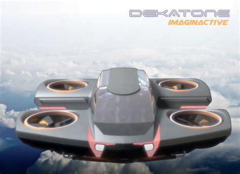 macchina volante dekatone la prima auto volante ed elettrica al 100