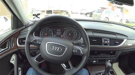 Audi A6 C7 2 0 Tfsi by 2017 Audi A6 C7 2 0 Tfsi Quattro S Tronic езда по городу
