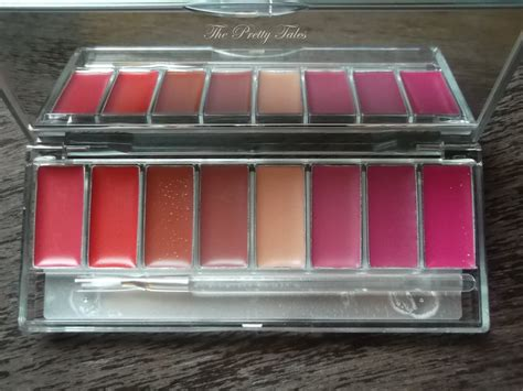 Eyeshadow Palette Wardah wardah lip palette review the pretty tales