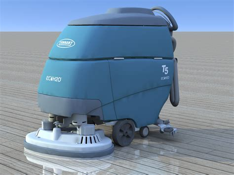 3D Cleaning Game by Rafaël Rozendaal: Tennant 5 floor scrubber