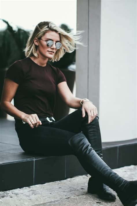 Wear Over The Knee Boots With Jeans