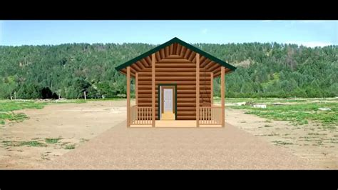 Conestoga Log Cabins by Conestoga Log Cabin Kit Tour 14 7 Quot X 27 Elk Lodge No